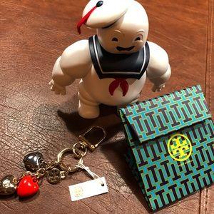 Tory Burch Keychain NWT Hearts ♥️